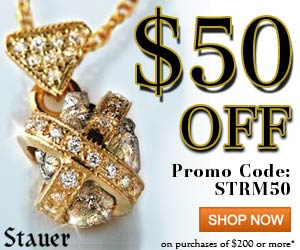$50 off of $200 or more at Stauer.com. Use Promo C
