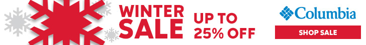 Columbia Winter Sale! 25% Off Select Styles at Columbia.com! Offer ends 2/13.
