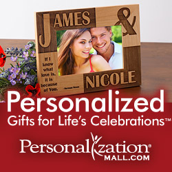 Personalized Gifts from PersonalizationMall.com