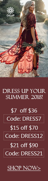OASAP Summer Dress Discount, save more now!