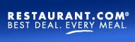 Restaurant.com 191x60 blue banner