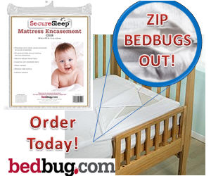 Baby Crib Mattress Cover Prevents Bed bugs