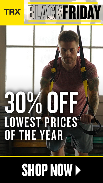 TRX MERCH MADNESS SALE - Up To $50 OFF Trainers plus Special Daily Deals
