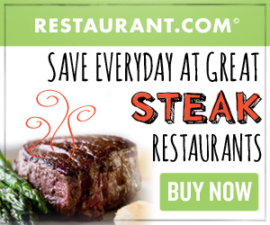 Save Everyday at Great Steak Restaurants