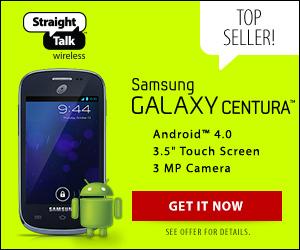 Samsung Galaxy Centura from Straight Talk Wireless