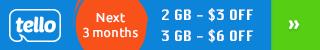 Buy 2GB and Get $3 Off. Buy 3GB and Get $6 Off. Get Offer Now!