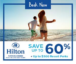 Playa Resorts Black Friday sale