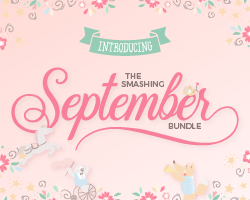 SALE!! 97% OFF The Smashing September Bundle
