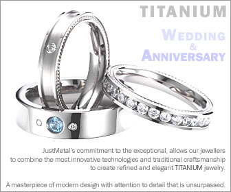 Titanium Wedding & Anniversary Rings