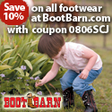 Save 10% on all footwear at BootBarn.com!