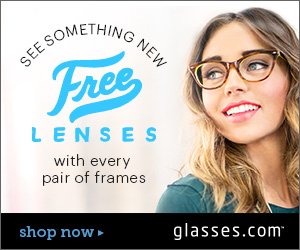 Free Prescription Lenses at Glasses.com