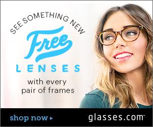 Free Prescription Lenses at Glasses.com