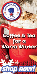 Buy Coffee & Tea for a Warm Winter at Coffee Wholesale USA