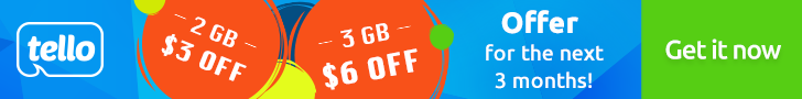 Buy 2GB and Get $3 Off. Buy 3GB and Get $6 Off. Get Offer Now!