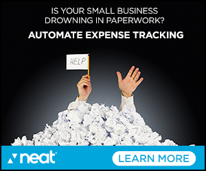 Image for Automate Expense Tracking Blue 300x250