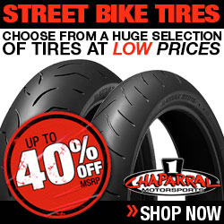 Save up to 40% 0ff MSRP On Streetbike Tires