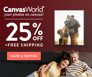 Canvas Prints - 25% Off & Free Shipping