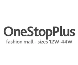 One Stop Plus Plus Size Clothing Banner