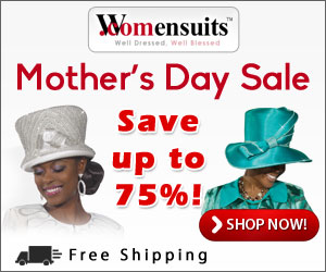 Mother's Day Sale, Save up to 75% off at Womensuits.com!