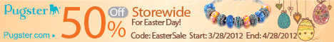 50% Off Storewide For Easter Day!