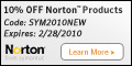 Exp. 8/31 - 10% off Norton Ghost (Code: gst10off)