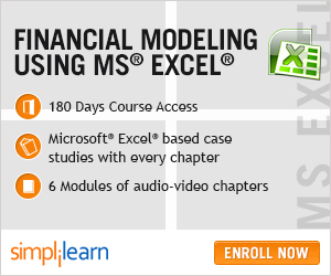 Financial Modeling using MS Excel Online Course