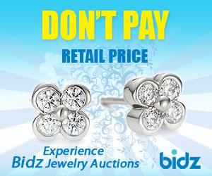 Bidz Live Jewelry Auction. Don;t Pay Retail