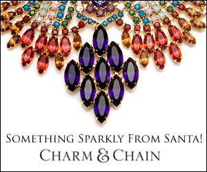 Something Sparkly From Santa at CharmandChain.com