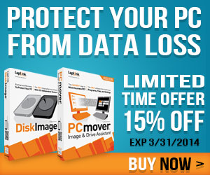 Protect your PC from data loss with the Ultimate Backup Bundle. Save 15% off until 3/31/14