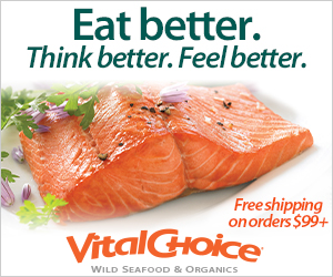 Vital Choice-Your Trusted Source For The World's Finest Wild Seafood & Organic Fare - All With Free Shipping On Orders Over $99