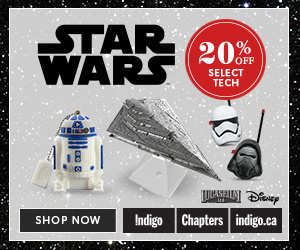 Save 20% on select Star Wars tech (Dec 18 - 24)