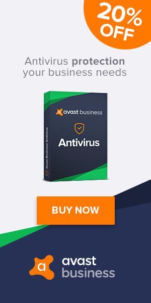 US Avast Business Antivirus 10% Off - 300x600