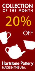 20% off Hartstone Pottery's Collection of the Month