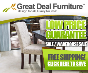 FREE Shipping at Great Deal Furniture!