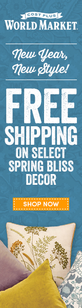 Free Shipping on Select Spring Bliss Decor at World Market