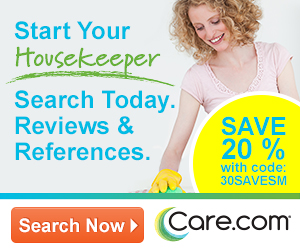 20% Off - Start Your Housekeeper Search Today.  Reviews & References.