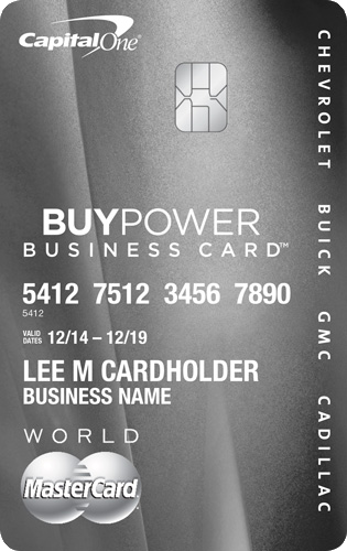 Apply online forBuyPower Business Card from Capital One® -Get The Card That Helps You Get The Car