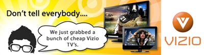 Vizio TV's for Sale at UncleVic.com