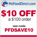 PFDSAVE10 - $10 Off $100 - 125x125