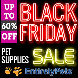 Up to 60% Off on Pet Supplies at EntirelyPets Black Friday Sale