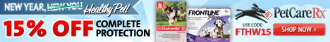 Save Up To $15 On All Flea & Tick Products!