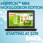 The new Dell Inspiron Mini Nickelodeon Edition kee