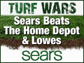 Sears Turf Wars - The battle for your lawn is on