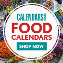 Shop Foodie Calendars Now!