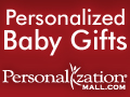 Personalized Baby Gifts from PersonalizationMall.com