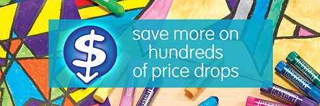 Save More On Hundreds Of Price Drops At Discount School Supply! Get Free Shipping Too On All Stock Orders Over $99!