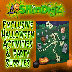Exclusive Halloween activities and party supplies!