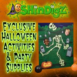 Exclusive Halloween activities and party supplies!