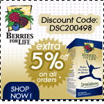 Berries for Life Specials - Additional 5% off