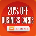 20% Off all Business Cards! Code: Business20